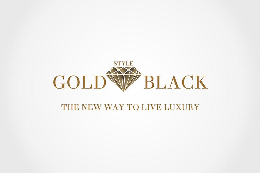 Gold Black Style LOGO