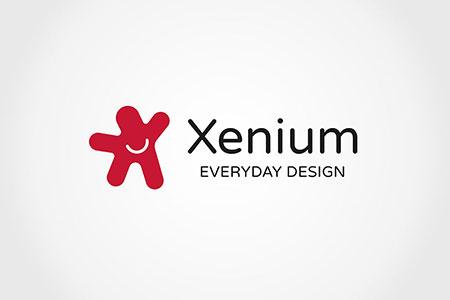 Design Logo Xenium