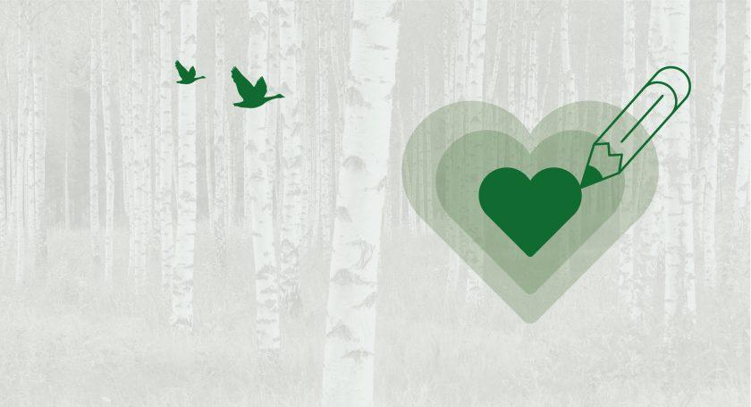 La passione verde per la carta