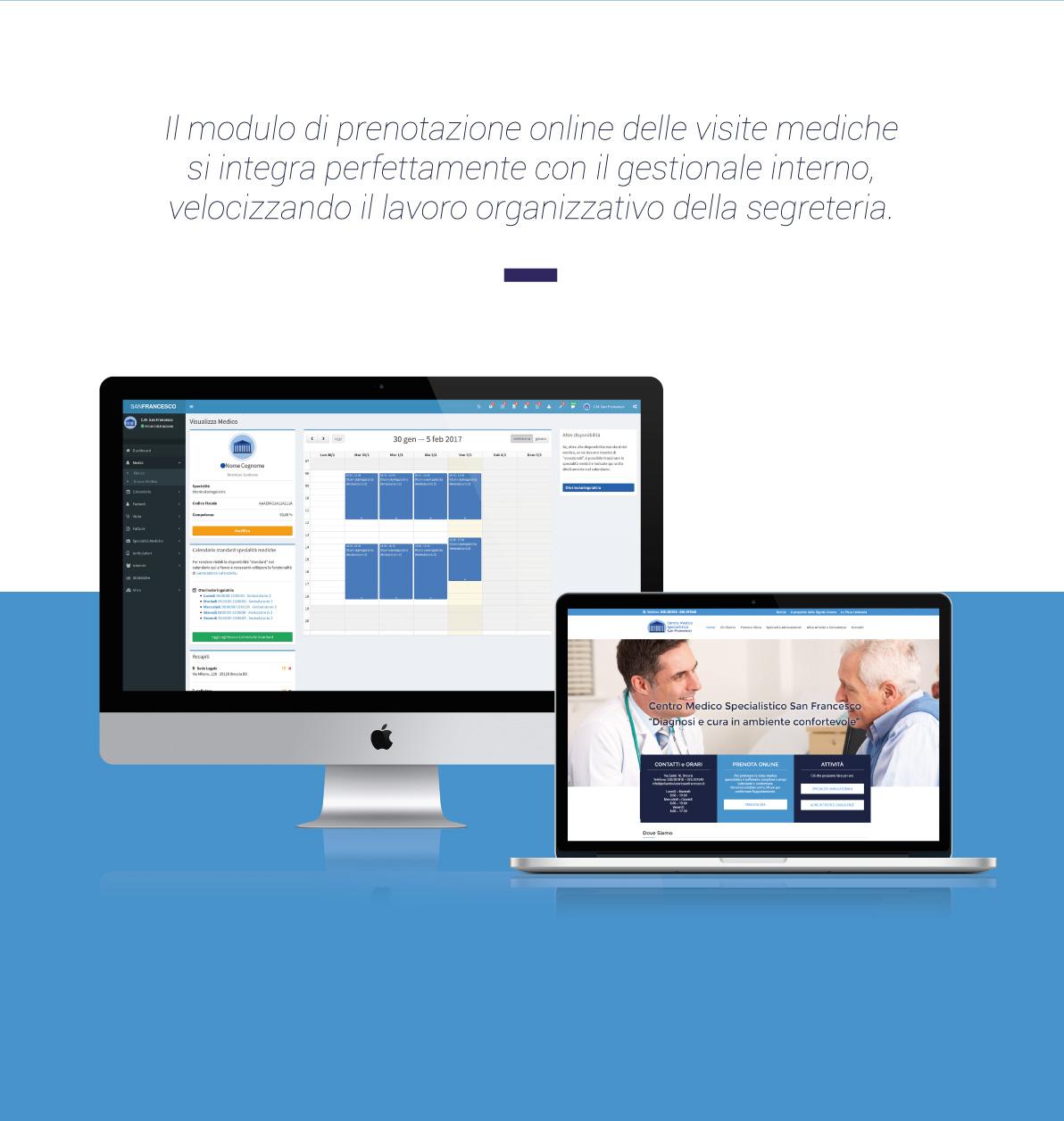 Il poliambulatorio che connette medico e paziente voxart for Sito web di progettazione edilizia