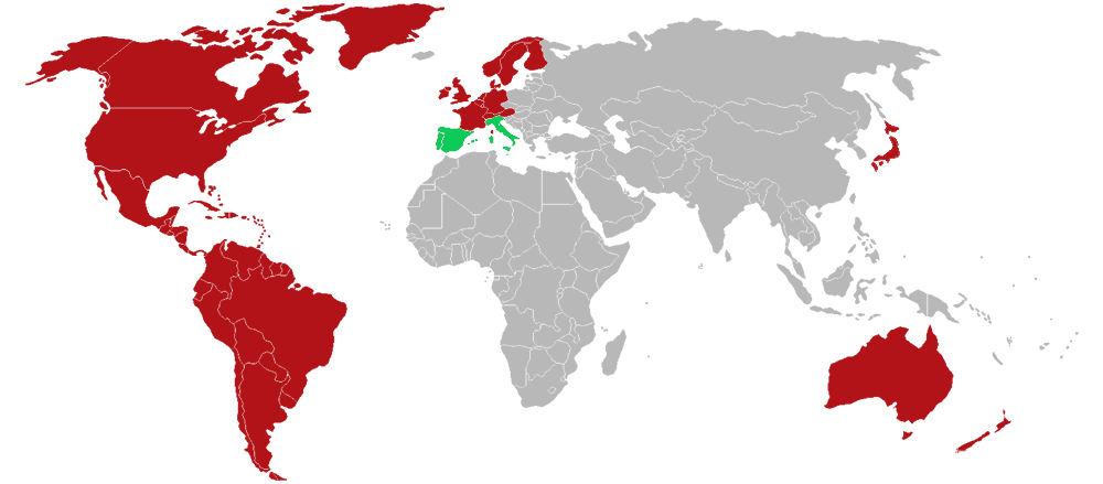 Netflix nel mondo. La mappa dopo l'arrivo in Italia