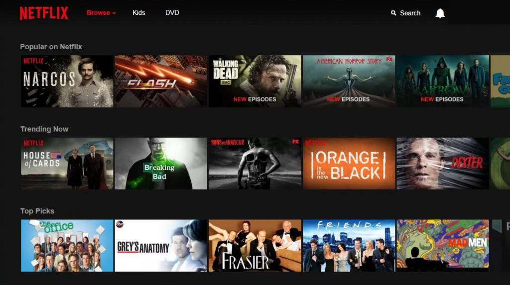 Netflix (versione USA)